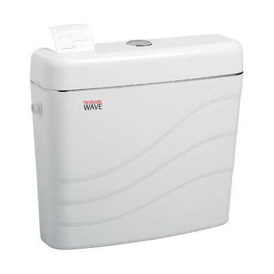 Hindware Wave Dual Flush Pvc Cistern
